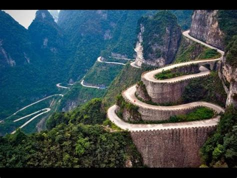 Top 10 Most Amazing Roads in the World - YouTube