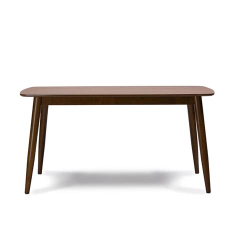 all wood dining table modern mid century solid quot wood dining table quot kitchen