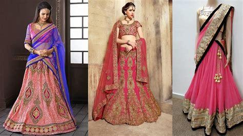 how to drape a lehenga dupatta 5 gorgeous ways to wear a lehenga saree to look slim how
