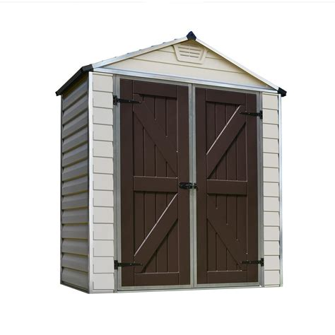 6 x 3 shed palram 6 ft x 3 ft skylight shed 703387 the home depot