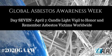 global asbestos awareness week day  april