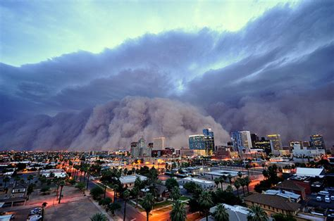 massive dust storm phoenix usa strange unexplained