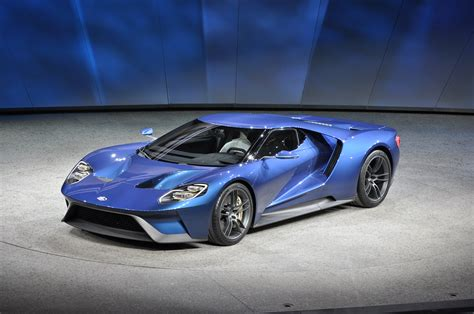 ford supercar new ford gt supercar revealed at 2015 detroit auto show video