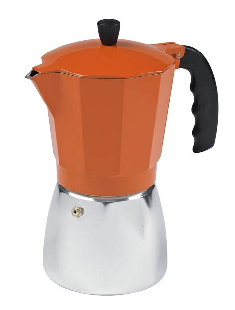 Everyday low prices, save up to 50%. Amazon.com: IMUSA, B120-43O, Aluminum Coffeemaker, 6-Cup, Orange: Drip Coffeemakers: Kitchen ...