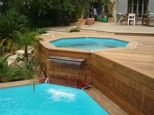 infos sur photo piscine hors sol avec terrasse bois With transat de piscine design 5 piscine terrasse arts et voyages