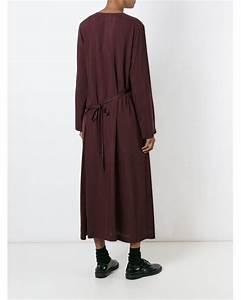 comme des garcons 39robe de chambre39 dress in red lyst With robe de chambre été