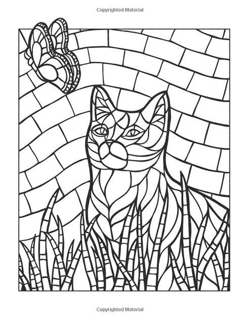 cheetah mosaic coloring pages