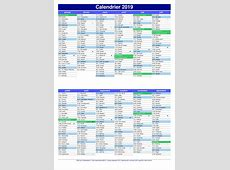 Calendrier 2019 france 2019 2018 Calendar Printable with