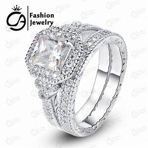 Best high quality cubic zirconia wedding ring sets ola for Best quality wedding rings