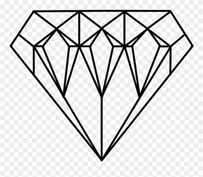 Diamond Coloring Minecraft Diamonds Jewel Clipart Colouring