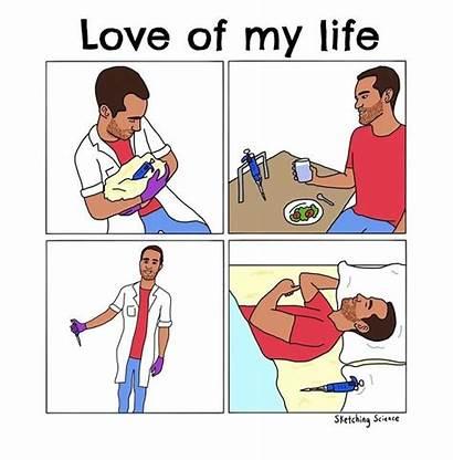 Science Lab Humor Sketching Memes Laboratory Comics