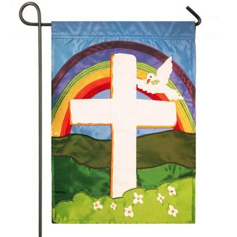 Christian Garden Flags by Faith Cross Garden Easter Flag Easter Flags Holidays