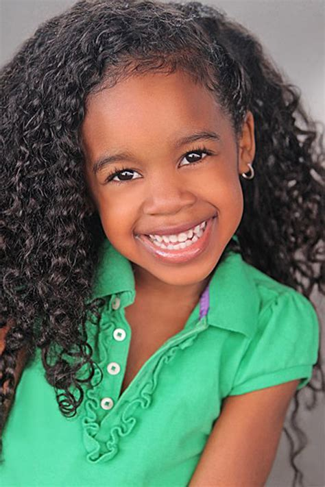 Kids Hairstyle: Cheerful Curly Kids Hairstyles For