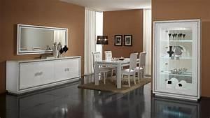Chaise De Salle A Manger Blanche : chaise de salle manger blanche lot de 2 perla matelpro ~ Voncanada.com Idées de Décoration