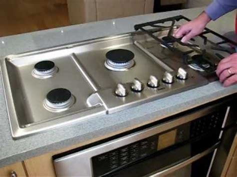clean  bosch gas cooktop youtube
