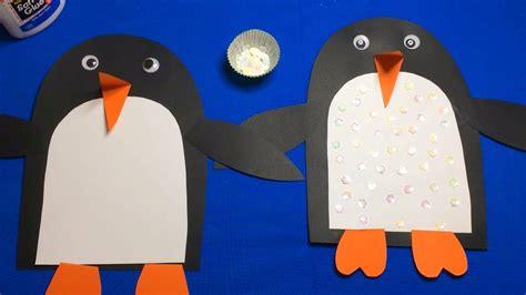 sequin penguin preschool craft for motor skills 135   maxresdefault