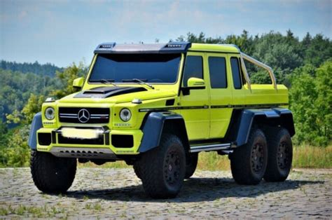 The advertised price does not include sales tax, vehicle. Mercedes-Benz G500 6x6 BRABUS | Cars & Trucks | City of ...