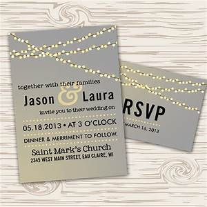 fairy lights wedding invite stationery pinterest With wedding invitation wording light refreshments