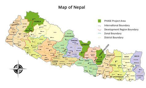 nepal map gorkha