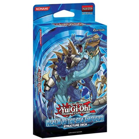 The Emperor Structure Deck Opening by Yu Gi Oh 23 Realm Of The Sea Emperor Structure Deck