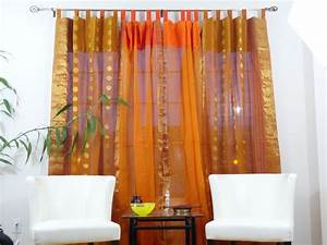 Indian Cotton Silk Curtains Drapes French Window Ethnic