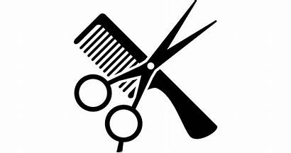 Scissors Clipart Clip Hairdresser Barber Comb Vector