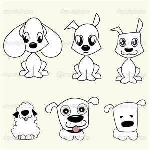 ideas  cartoon dog  pinterest doodle dog