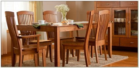 Amish Dining Room Furniture Pittsburgh  Chairs  Home