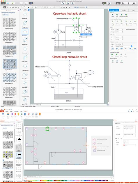 How Use Office Layout Software Electrical Drawing