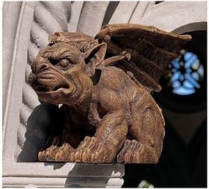 Medieval Fierce Guard Gargoyle Sculpture Gothic Statue | eBay