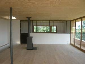 Interieur maison bois contemporaine maison eko for Interieur maison bois contemporaine