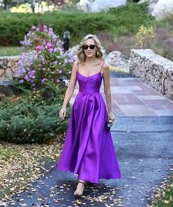 Fall mountain wedding guest purple dress memorandum for Mountain wedding guest dress