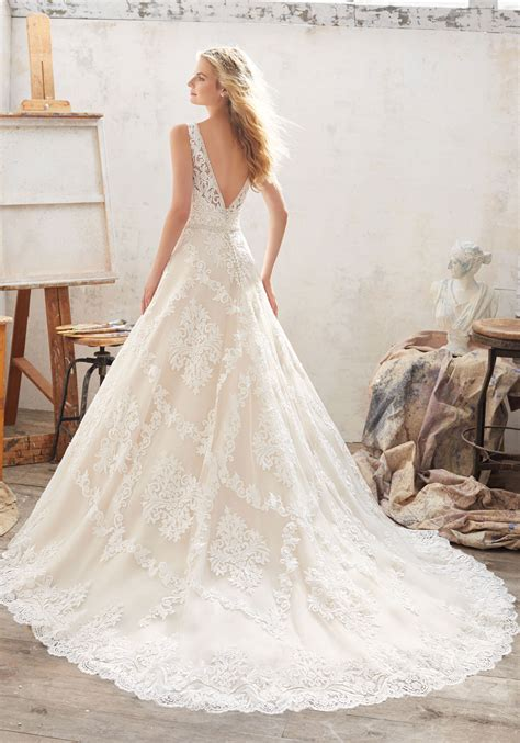 morgan wedding dress style 8124 morilee