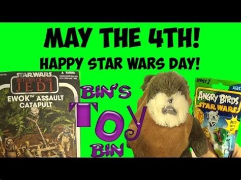 May the 4th Be With You! Happy Star Wars Day! Ewoks ...