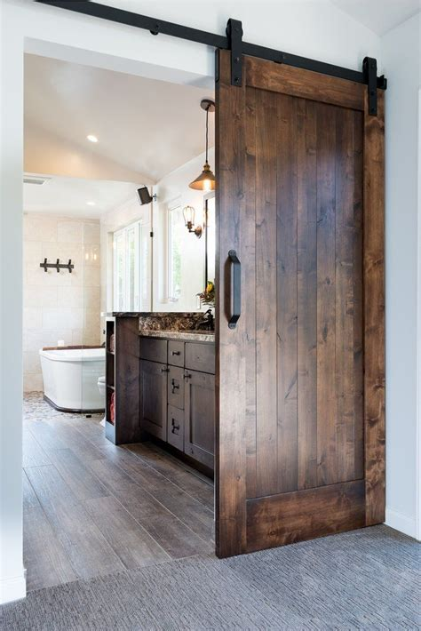 modern barn doors ideas  pinterest modern sliding doors sliding door  bathroom