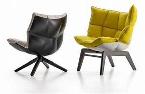 Fauteuil confortable design husk par patricia urquiola for Fauteuil design confortable