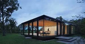 Glass House 2 : getaway guest house design with glass walls and eco friendly room decor ~ Orissabook.com Haus und Dekorationen