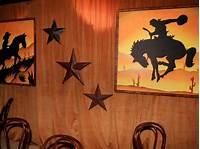western wall decor A Texas-Style Bon Voyage Party | Entertaining Ideas ...