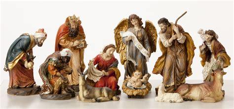 jesus christmas crib statue set buy sale nativity sets