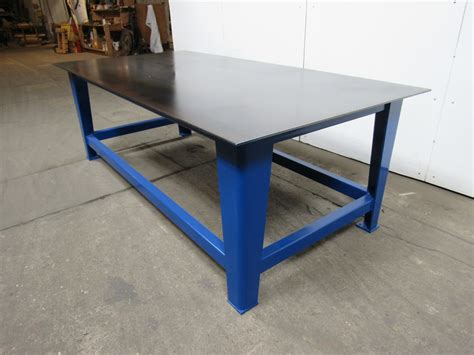 metal work bench 48 quot x96 quot x33 quot heavy duty steel welding layout assembly work