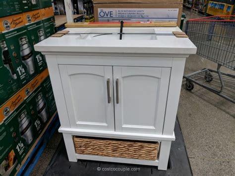 ove decors   white vanity