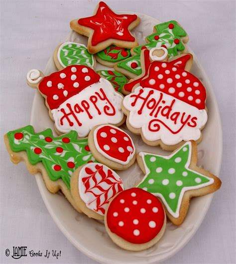 On wonderful christmas evening all of us enjoy colorful, crunchy cookies… these festive cookies are so attractive that we can't resist eating them… here are 25 delicious christmas cookie ideas to make your own special cookies. 228 best Christmas Cookie Decorating Ideas images on ...