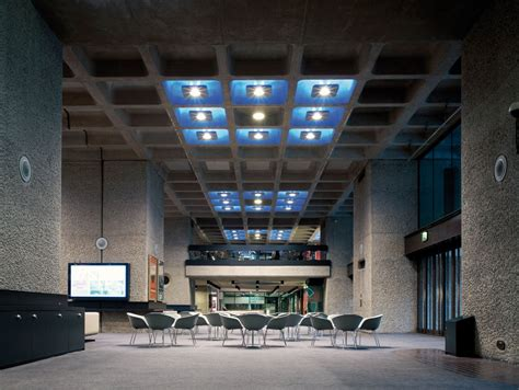 ceiling lighting design the barbican arts centre mindseye