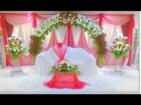 Elegant Wedding Stage Decoration YouTube