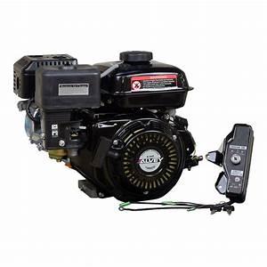 Electric Start 196cc 6 5 Hp 168f Honda Gx200 Clone Go