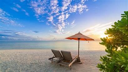 Vacation Windows Tropical 4k Sfondi Strand Playa