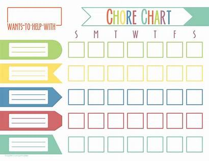Chore Chart Template Templates Allbusinesstemplates