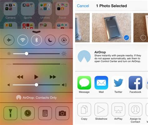 how to find airdrop on iphone how to use airdrop in ios 7