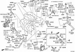 Toyota Rav4 Engine Coolant Bypass Pipe  Trace  Bcooling