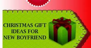 Christmas Gift for New Boyfriend Christmas Gift Ideas for